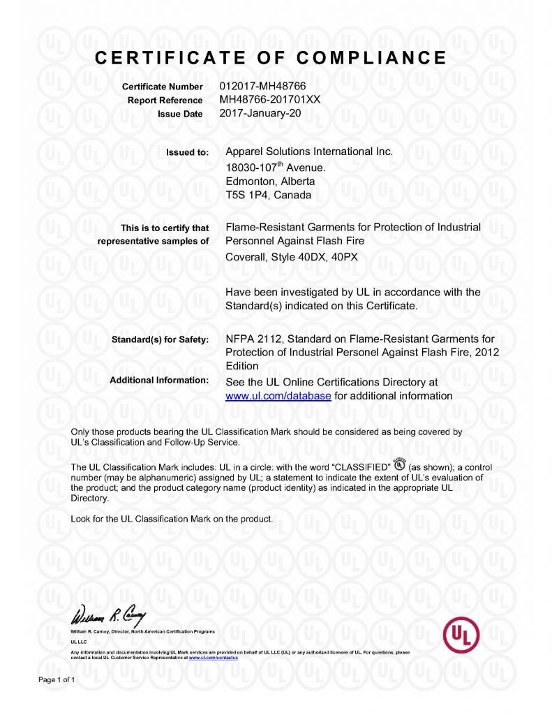 MH48766-20170120-CertificateofCompliance