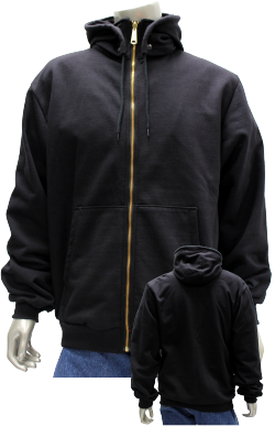 Modacrylic Fleece Jacket w/ Detachable Hood