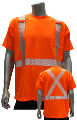 Poly/Cotton Hi-Vis S/S T-shirt