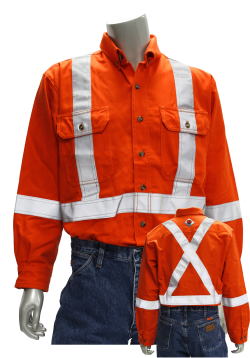 Hi-Vis UltraSoft Work Shirt