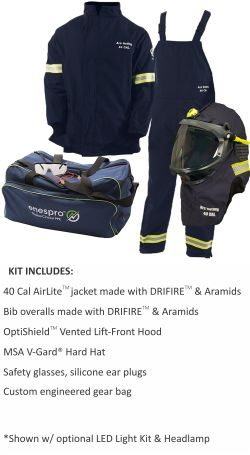 AirLite 40 CAL Arc Flash Kit