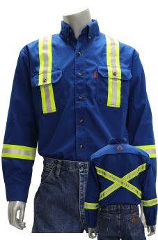 Hi-Vis Nomex Work Shirt